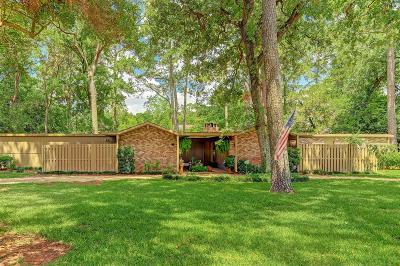 Houston Single Family Home For Sale: 111 Hickory Ridge Drive