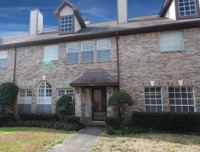 Houston TX Condo/Townhouse For Sale: $195,000