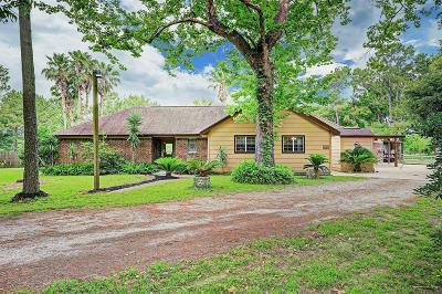 Santa Fe Single Family Home For Sale: 3234 Bruce Hall Road