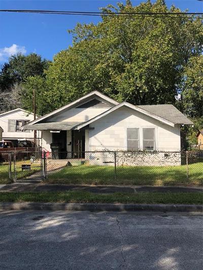 Houston Single Family Home For Sale: 3625 McGowen Street