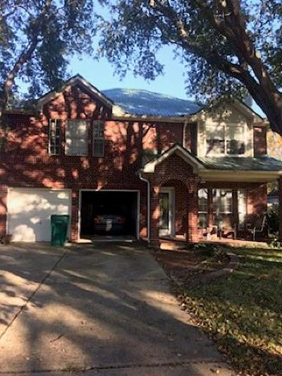 Single Family Home For Sale: 4401 Plover Drive