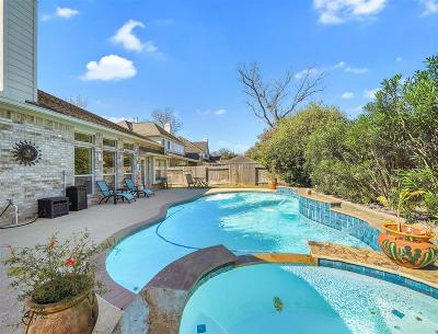 Sugar Land Single Family Home Option Pending: 8518 Old Quarry Drive