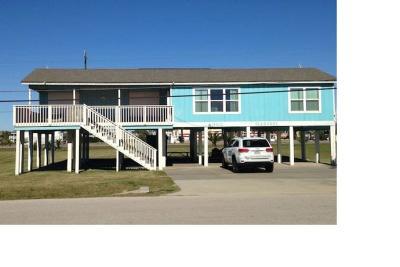 Jamaica Beach Single Family Home For Sale: 16610 Jamaica Beach Road