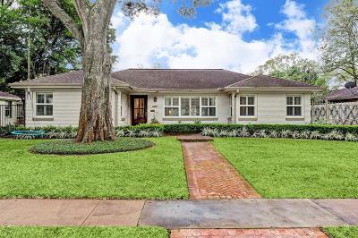 Houston Single Family Home For Sale: 4011 Colquitt Street