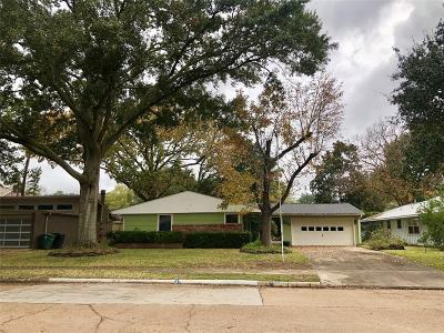 Houston Single Family Home For Sale: 8614 Prichett Drive
