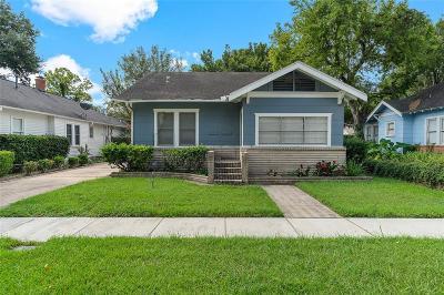 Houston Single Family Home For Sale: 1126 Jerome Street