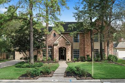 Kingwood Single Family Home For Sale: 2814 Four Pines Drive