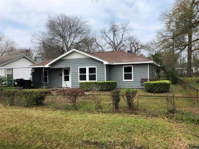 Houston Single Family Home For Sale: 13375 Louisville Street