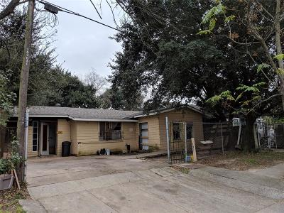 Houston Single Family Home For Sale: 4706 Terry Street