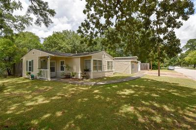 Galveston County, Harris County Single Family Home For Sale: 4002 Ella Boulevard