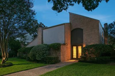 Houston Single Family Home For Sale: 15763 Foxgate Road