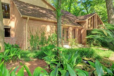 Houston Single Family Home For Sale: 110 Lakeside Oaks Drive