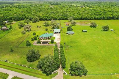 Rosharon Single Family Home For Sale: 2410 Majestic Oaks Court