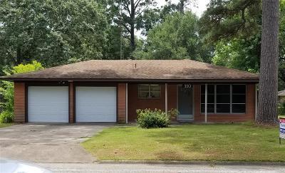 Liberty Single Family Home For Sale: 110 Lone Oak