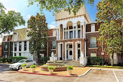 Houston Condo/Townhouse For Sale: 7555 Katy Freeway #145