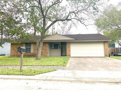 Bay City TX Single Family Home For Sale: $139,500