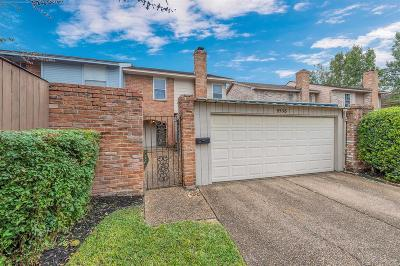 Houston TX Condo/Townhouse For Sale: $145,000