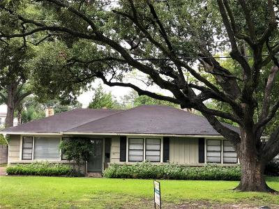 Bellaire Single Family Home For Sale: 4710 Maple Street