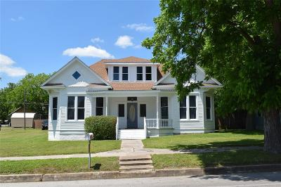 Schulenburg Single Family Home For Sale: 711 Summit Street