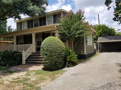 Houston Single Family Home For Sale: 4606 Dickson Street