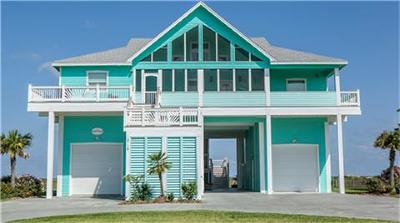 Port Bolivar Single Family Home For Sale: 3718 Biscayne Beach Road