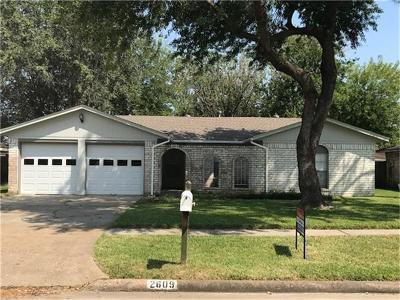 Deer Park Single Family Home For Sale: 2609 Henderson Lane