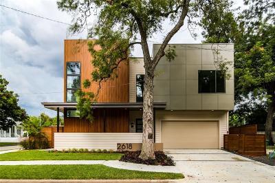 Houston Single Family Home For Sale: 2618 Columbia Street