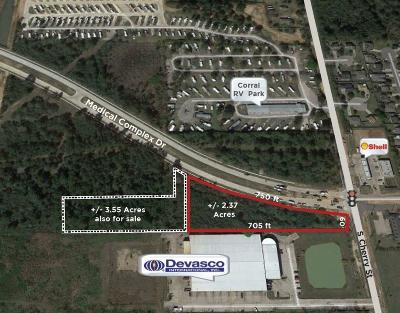 Tomball Farm & Ranch For Sale: 1635 S Cherry Street