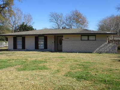 Houston TX Single Family Home For Sale: $188,500
