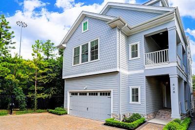 Houston Single Family Home For Sale: 428 Marshall Street