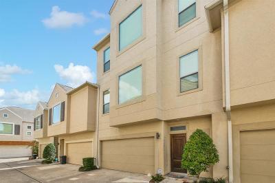 Houston Condo/Townhouse For Sale: 3882 Center Street