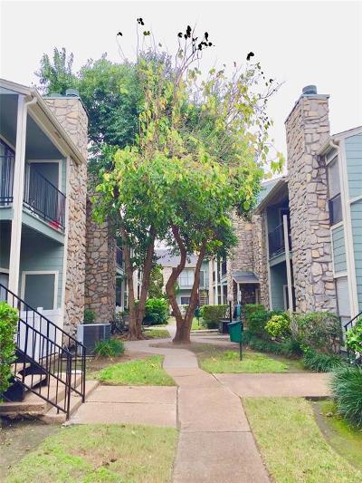 Houston Condo/Townhouse For Sale: 3758 Tanglewilde Street #E2