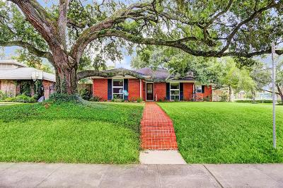 Houston Single Family Home For Sale: 3751 Underwood Street