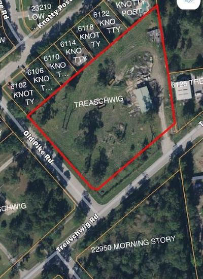 Spring Residential Lots & Land For Sale: Treaschwig Road