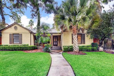 Houston Single Family Home For Sale: 339 Terrace Drive