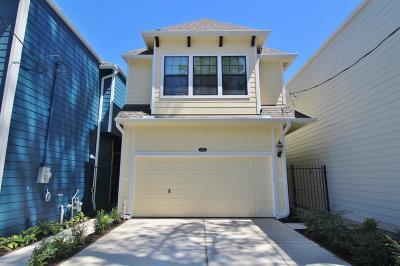 Houston Single Family Home For Sale: 6503 Westcott Street #A