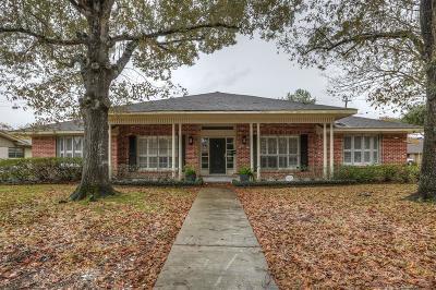 Meyerland Single Family Home For Sale: 9715 Cedarhurst Drive