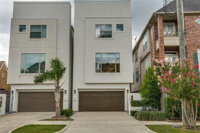 Houston Single Family Home For Sale: 1010 Stanford Street