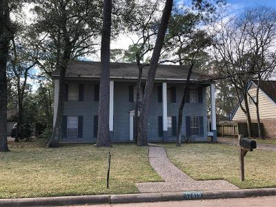 Houston TX Single Family Home Pending: $125,000