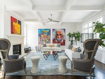 Houston Condo/Townhouse For Sale: 415 Lovett #D