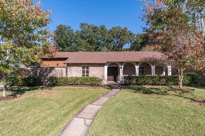 Seabrook Single Family Home For Sale: 4123 Bayou Grove Drive