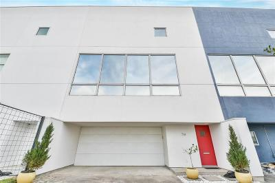Houston Condo/Townhouse For Sale: 714 Parker Street