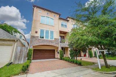 Houston Condo/Townhouse For Sale: 5025 Fairmont Street