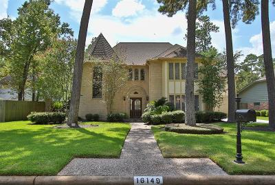 Spring Single Family Home For Sale: 16149 Hexham Drive