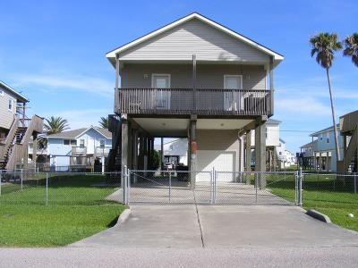 Galveston Single Family Home For Sale: 23121 Camino