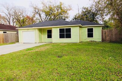 Pasadena Single Family Home For Sale: 1401 Pecan Drive