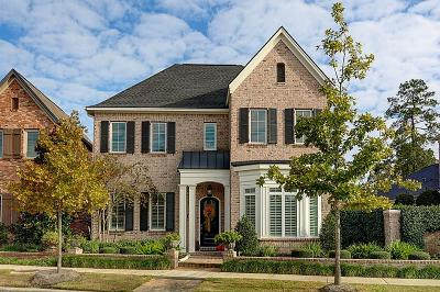 The Woodlands Single Family Home For Sale: 2707 Lake Front