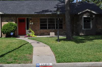 Houston Single Family Home For Sale: 1147 Shadeland