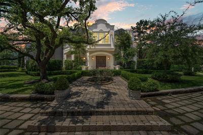 Houston Single Family Home For Sale: 8310 Hunters Creek Drive