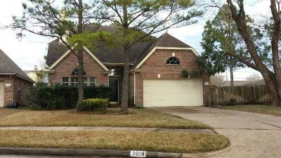 Houston Single Family Home For Sale: 3019 Bare Oak Street